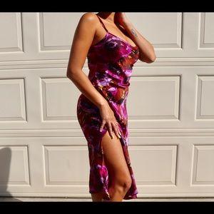 Vintage Betsey Johnson Floral Sundress Size Small